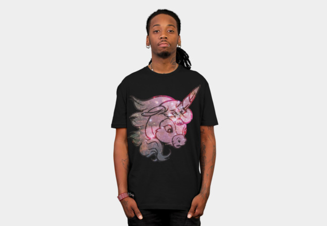 Cosmic Ünicorn T-Shirt - Design By Humans