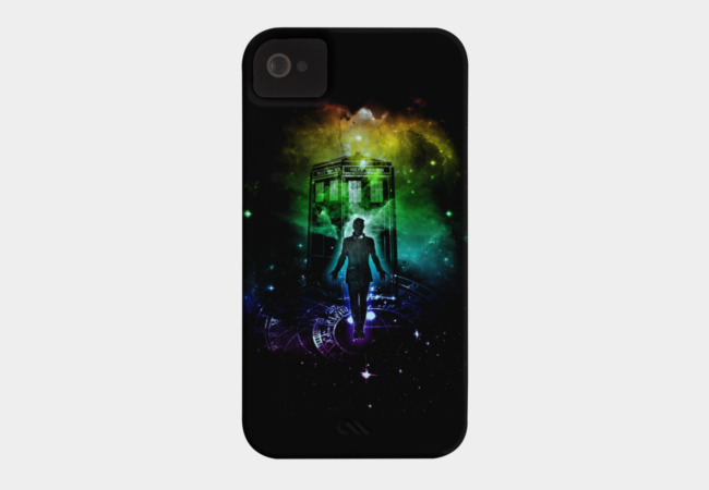 Time and Space Traveller V2 Phone Case - Design By Humans