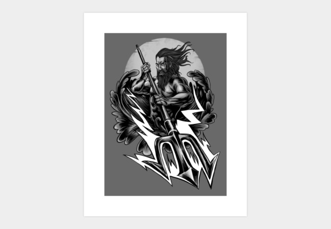poseidon Art Print - Design By Humans