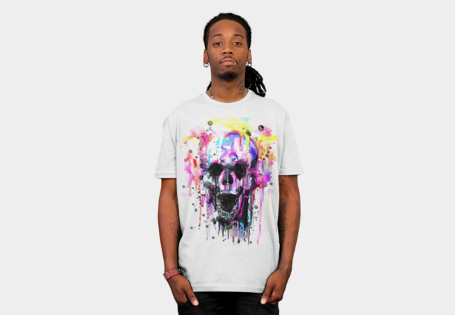 waterSKULLor T-Shirt - Design By Humans