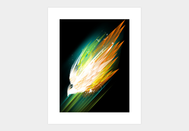across the aurora Art Print - Design By Humans