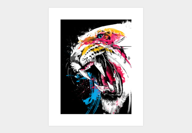 Whitespot Art Print - Design By Humans