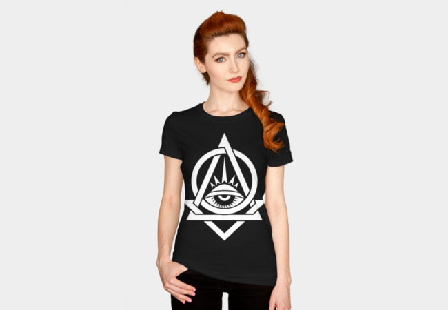 All Stoned Eye T-Shirt - Design By Humans