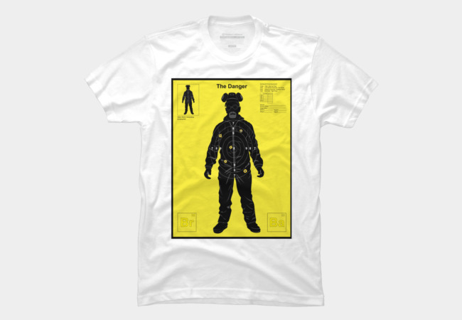 The Danger (Yellow) Men's T-Shirt