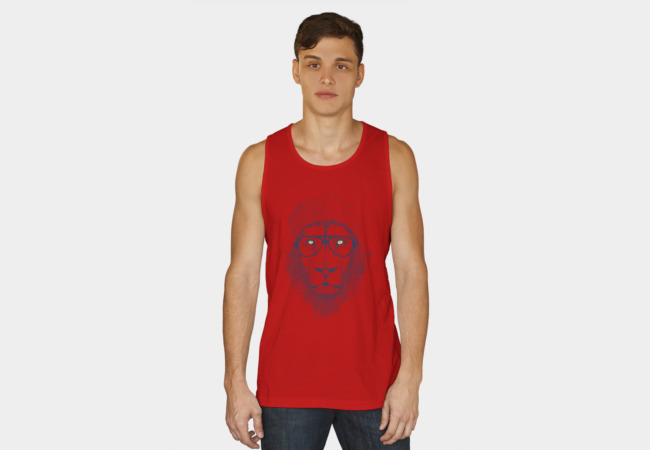 Cool lion Tank Top - Design By Humans