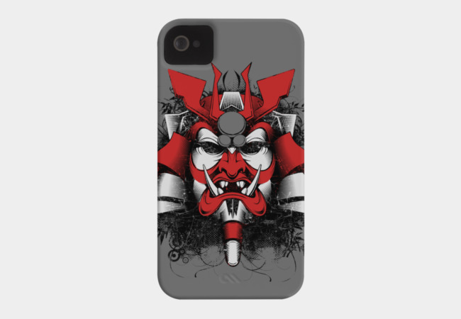 Samurai Mask of Doom! Phone Case - Design By Humans