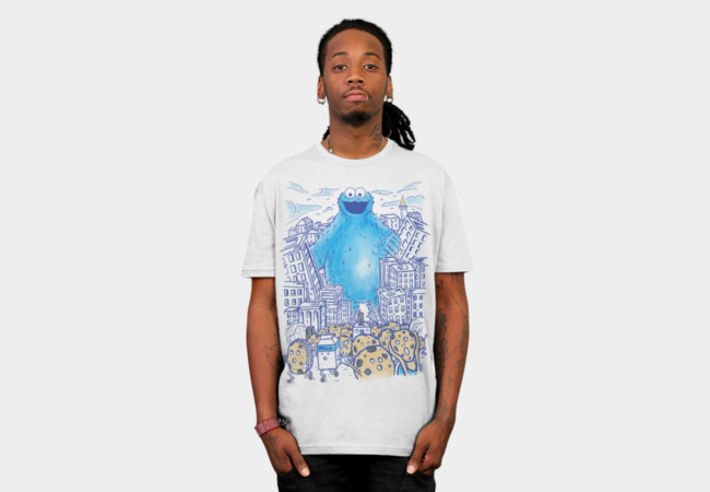Monster in the city T-Shirt - Design By Humans