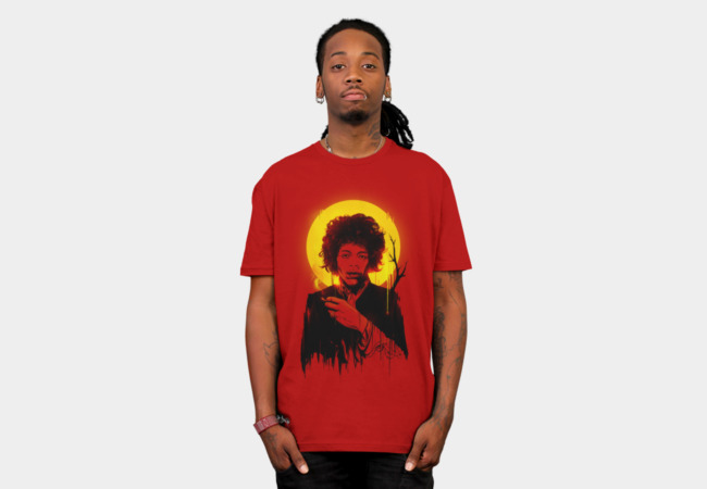 JIMI HENDRIX T-Shirt - Design By Humans
