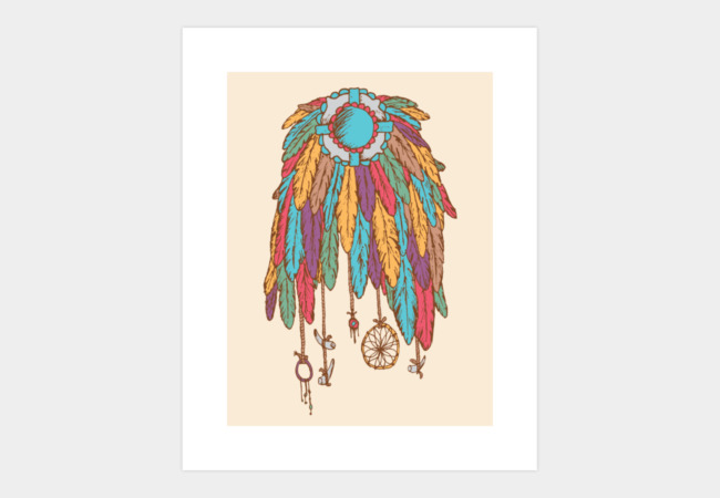 Feathers & Things Art Print - Design By Humans