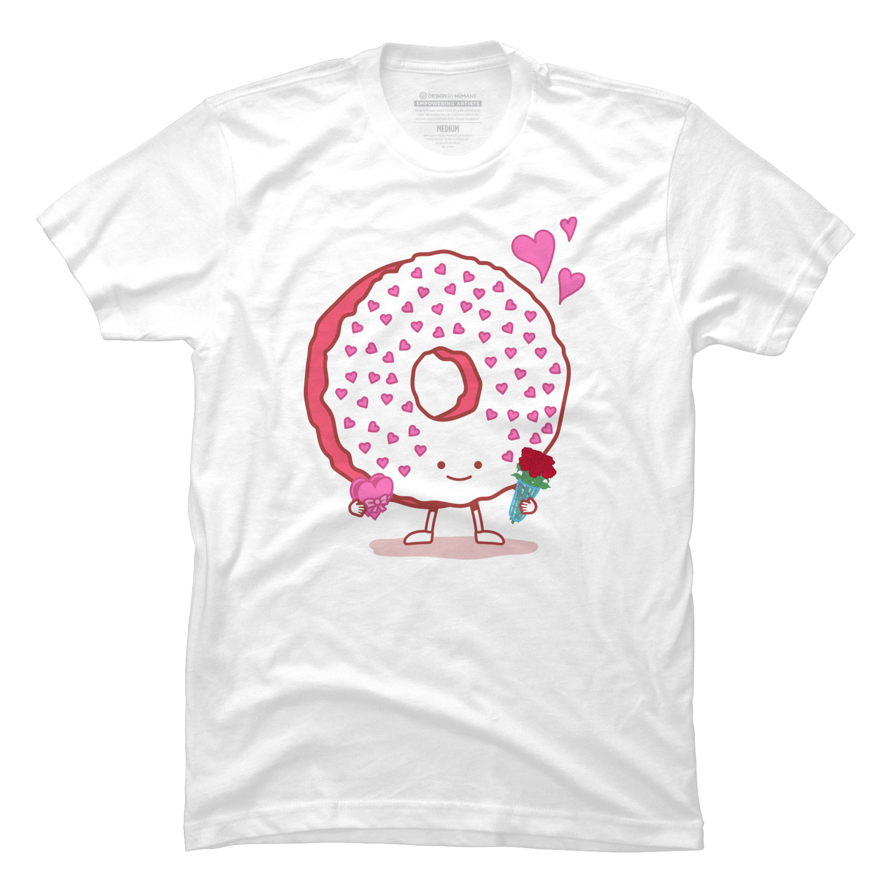 The Donut Valentine Men's T-Shirt
