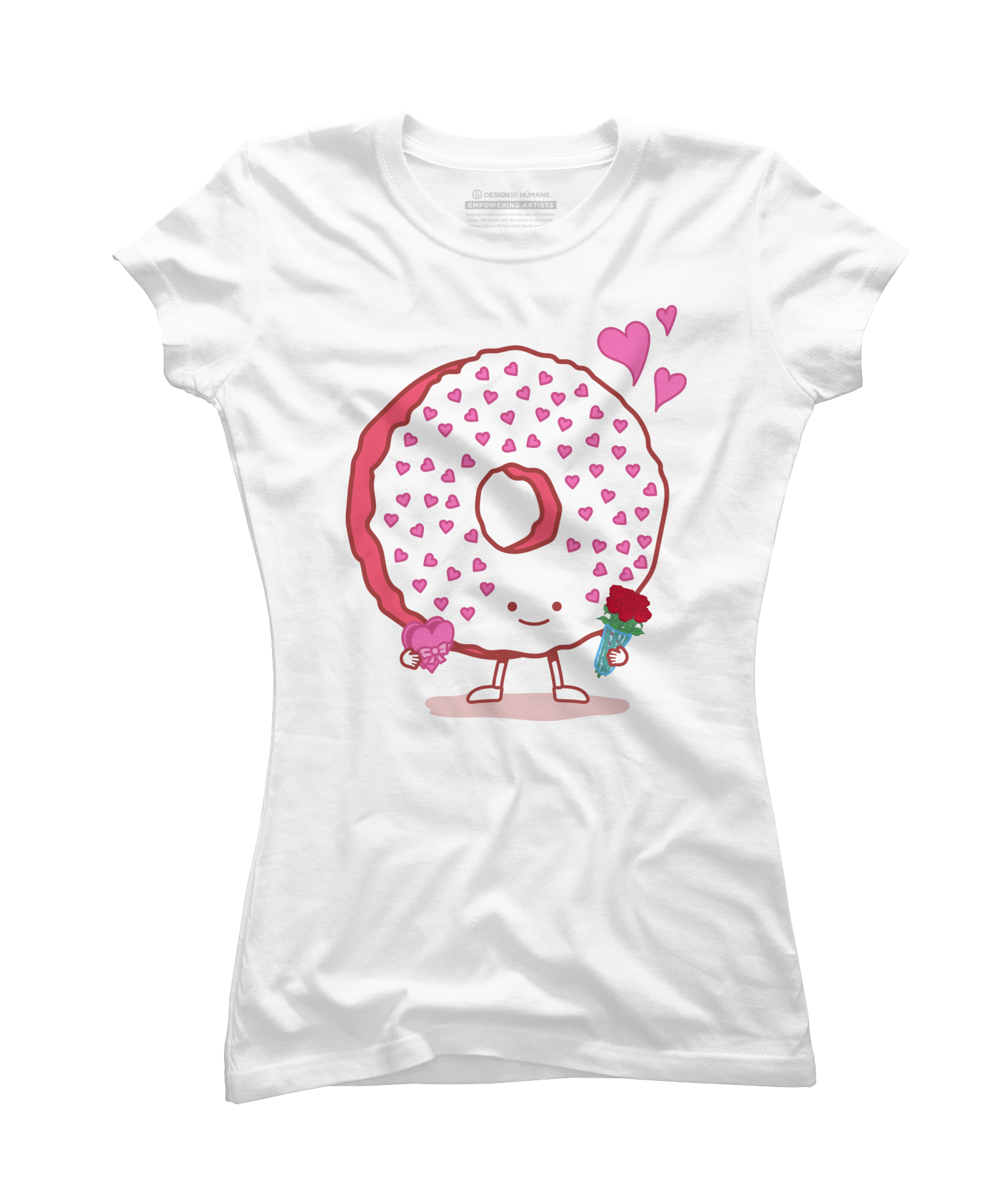 The Donut Valentine Women's T-Shirt