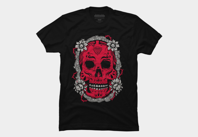 Mexican Skull Men's T-Shirt