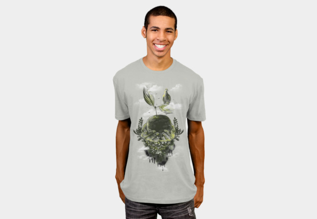 Peace on Earth T-Shirt - Design By Humans