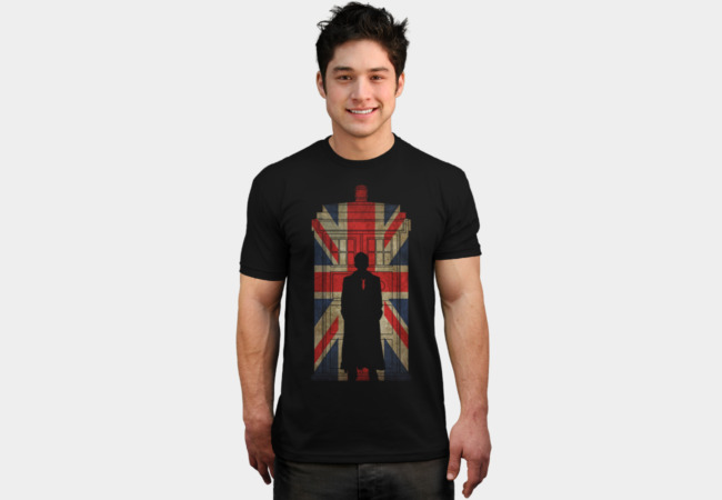 10th UK flag T-Shirt - Design By Humans