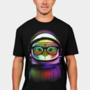clingcling wearing First Cat in Space by clingcling