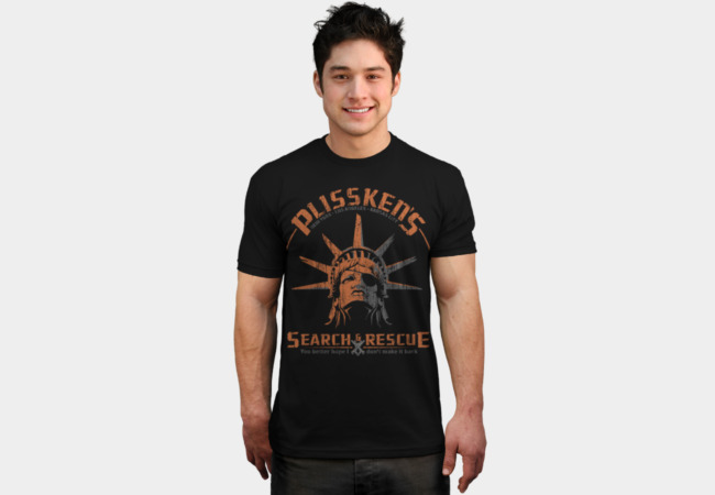 Plisskens Search and Rescue T-Shirt - Design By Humans