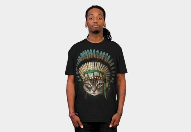 THE CHIEF CAT T-Shirt - Design By Humans