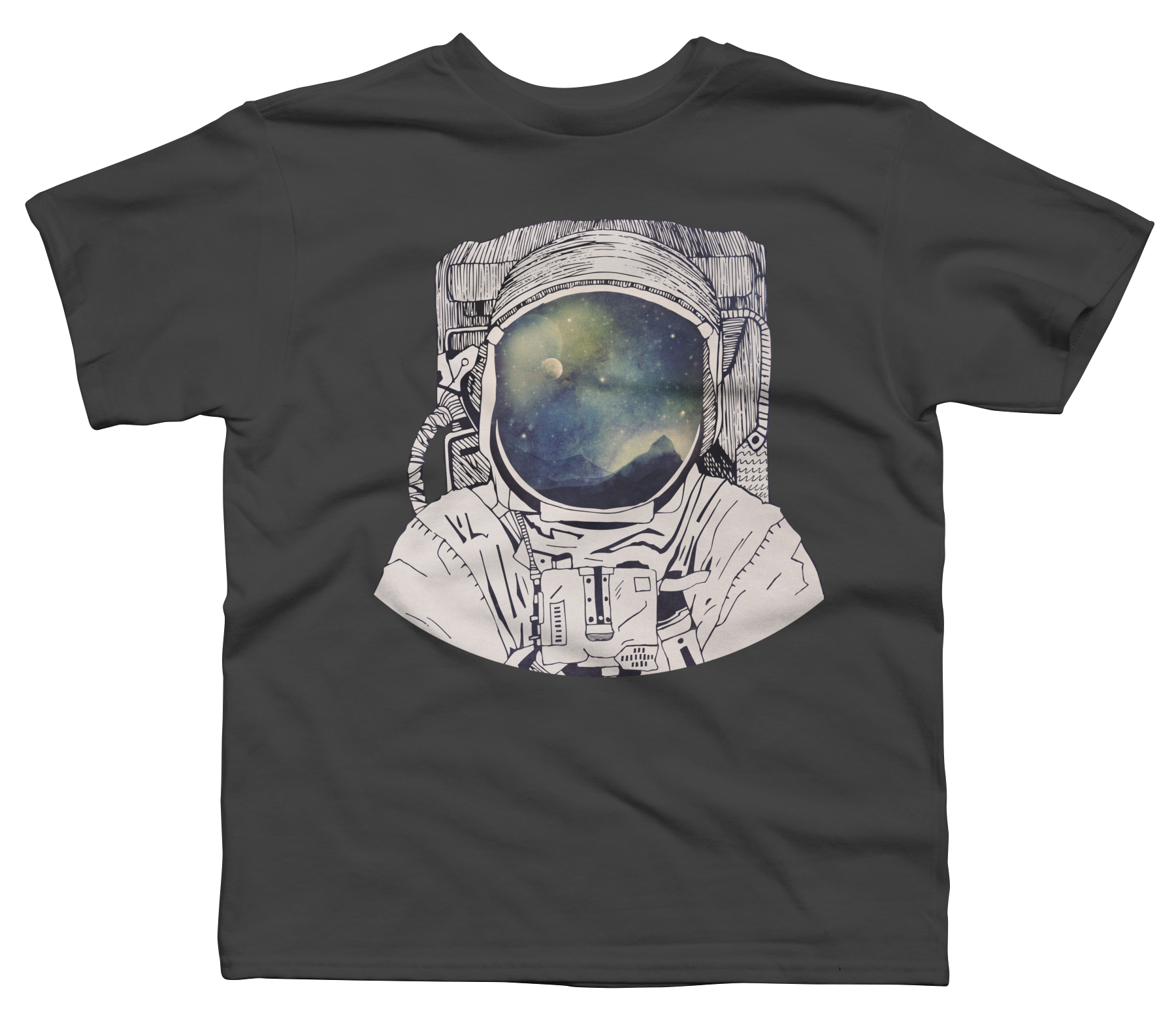 Dreaming Of Space Boy's T-Shirt