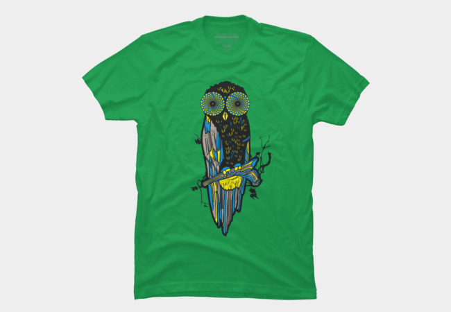 Owl Hipnotist Men's T-Shirt