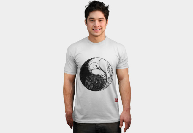 Raven and Dove T-Shirt - Design By Humans