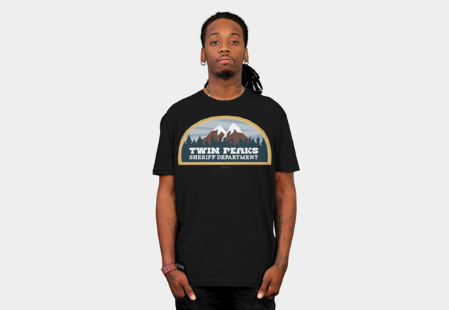Twin Peaks Sheriff Department T-Shirt - Design By Humans
