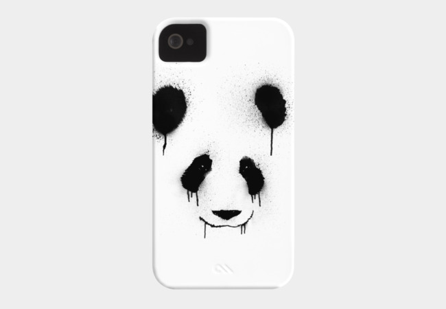 PandaSplatter Phone Case - Design By Humans