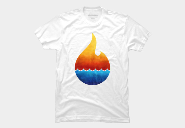 Fire & Water Men's T-Shirt