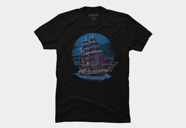 SpaceShip Men's T-Shirt