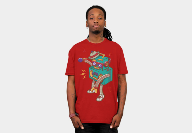 Rapbot T-Shirt - Design By Humans