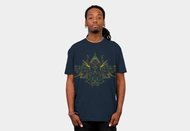Scarab T-Shirt - Design By Humans