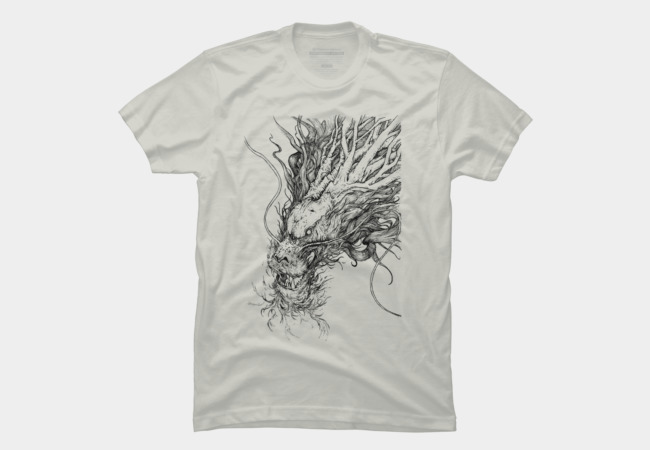 Tree Dragon Men's T-Shirt