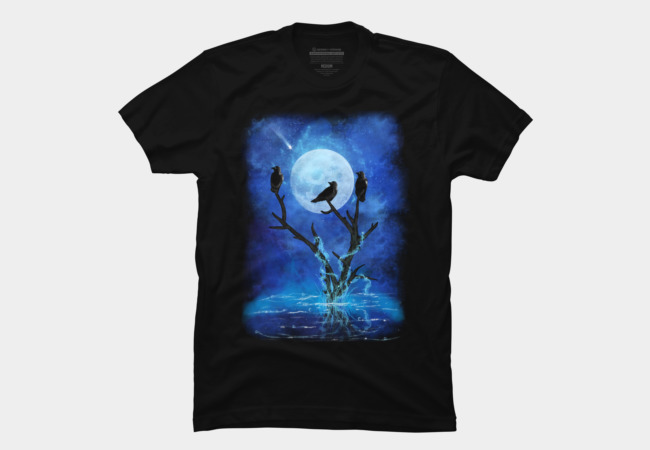 The Three Crows Men's T-Shirt