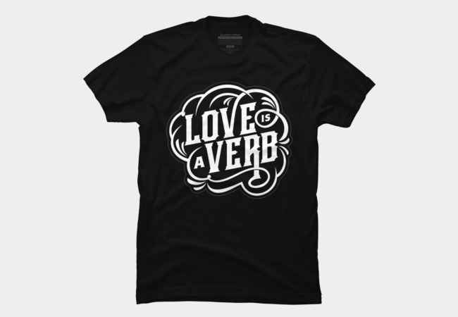 Love = Verb Men's T-Shirt