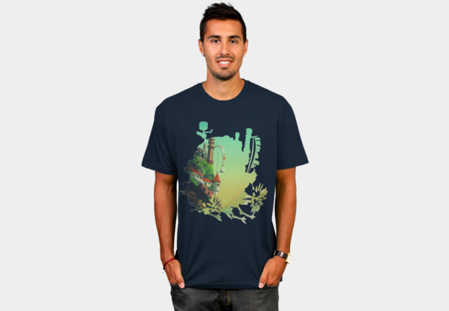 Howl's Castle T-Shirt - Design By Humans