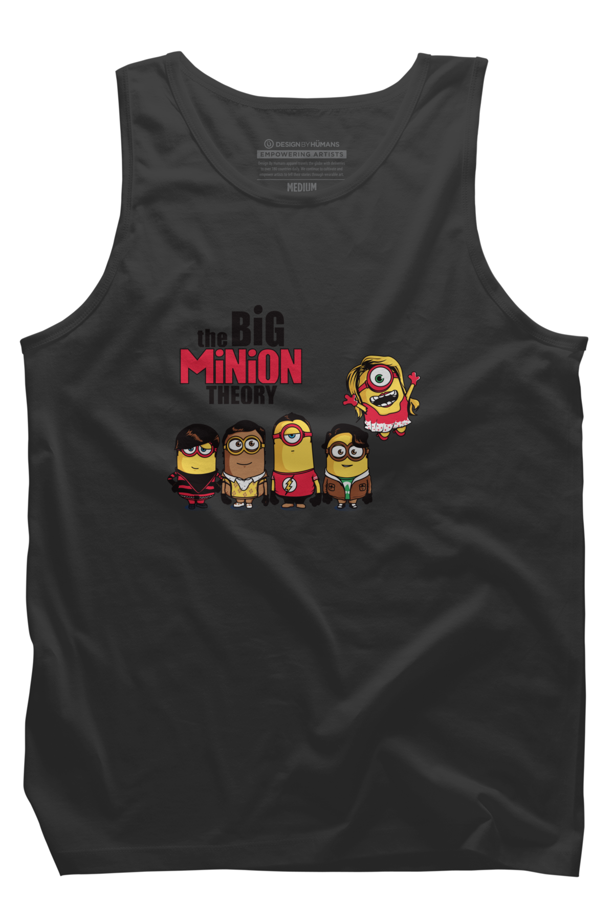 The Big Minion Theory Mens Tank Top