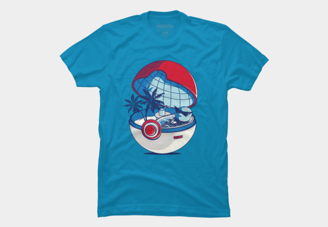 blue pokehouse Men's T-Shirt