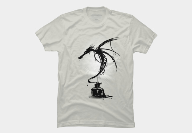 Ink Dragon Men's T-Shirt