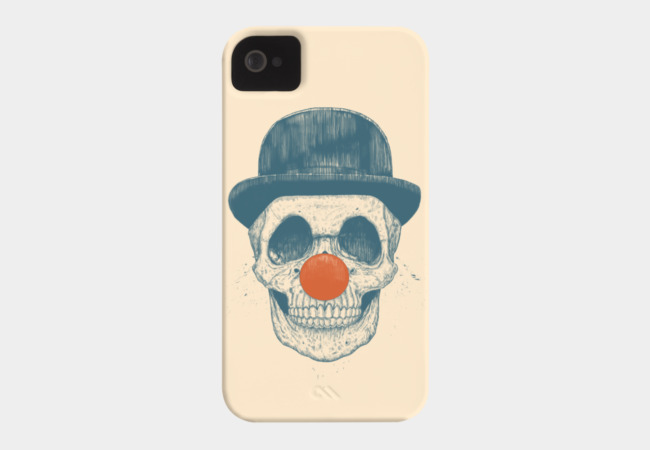 Dead clown Phone Case - Design By Humans