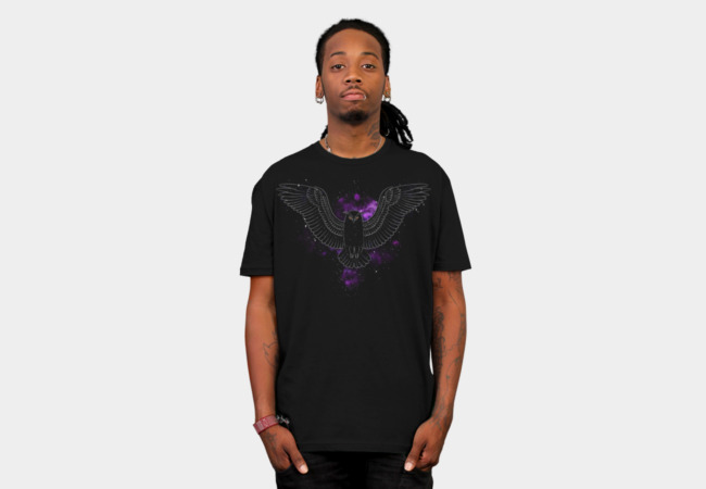 Night Owl T-Shirt - Design By Humans