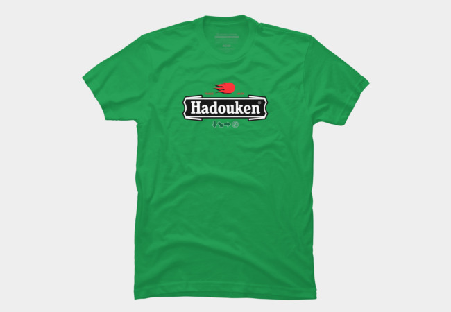 Hadouken Beer Men's T-Shirt