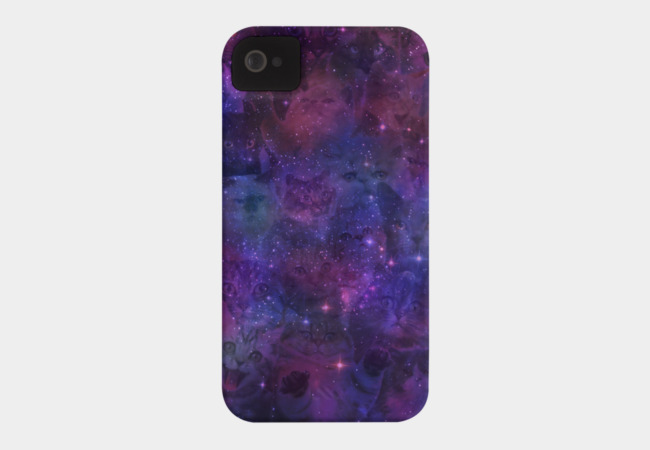 Cosmic Cats Phone Case - Design By Humans