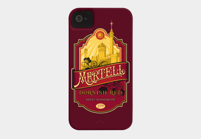Martell Dornish Red Phone Case - Design By Humans