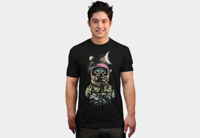 My cat in space T-Shirt - Design By Humans