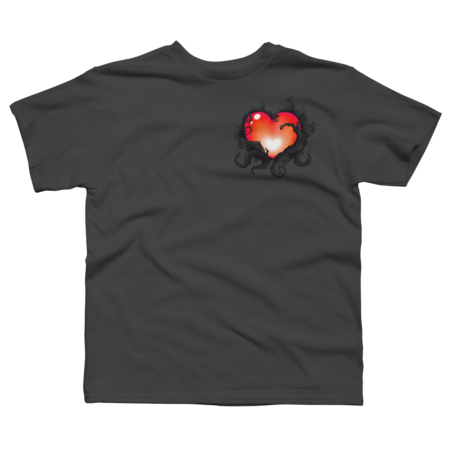 Mystery Heart- Red/Black Variant
