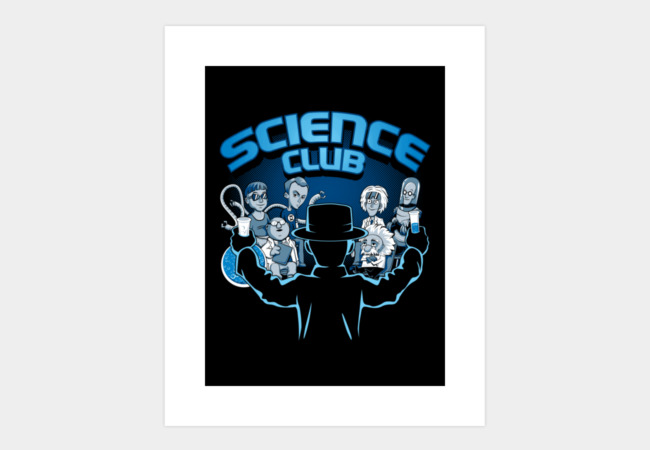 Science Club Art Print - Design By Humans