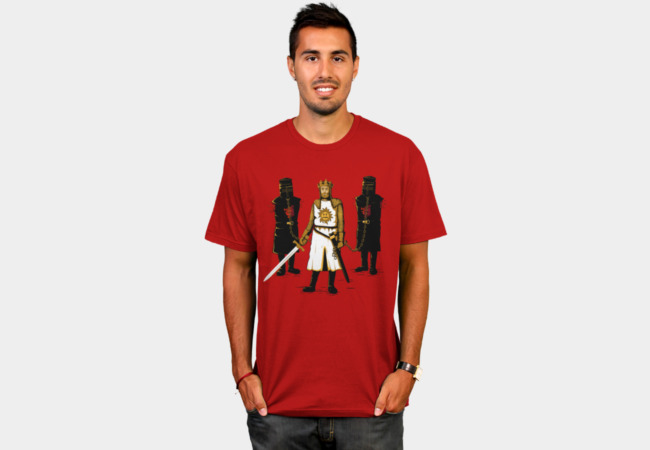 Walking Monty T-Shirt - Design By Humans