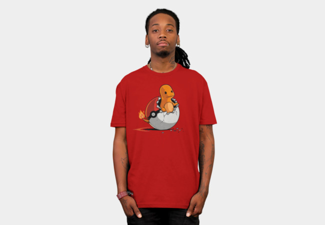 pokEGG ball T-Shirt - Design By Humans