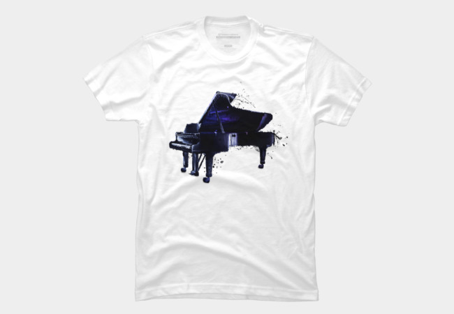 Piano Men's T-Shirt