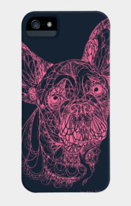 Lace Frenchie in Pink