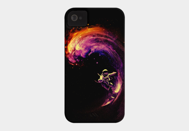 Space Surfing Phone Case - Design By Humans